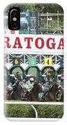 The Start At Saratoga IPhone Case