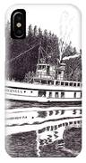 The Steamer Virginia V IPhone Case