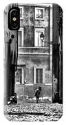 The Streets Of Roma IPhone Case