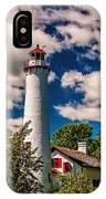 The Sturgeon Point Light IPhone Case