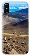 The Summit Of Haleakala Volcano In Maui. IPhone Case