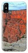 The Sun Shines On The Canyon IPhone Case