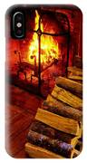 The Tavern Fire IPhone Case
