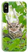 The Thoughtful Owl IPhone Case