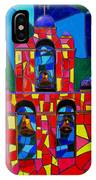 The Three Bells Of San Jose Mission IPhone Case