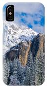 Cathederal Rocks And Bridalveil IPhone Case