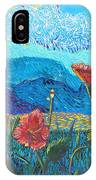 The Three Poppies IPhone Case