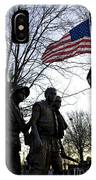 The Three Soldiers - Vietnam War Memorial IPhone Case