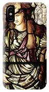 The Tibertine Sibyl In Stained Glass IPhone Case