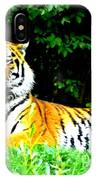 The Tiger In The Woods IPhone Case