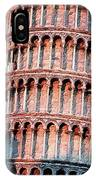The Tower Of Pisa IPhone Case