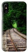 The Tracks Through The Woods IPhone X Case