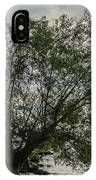 The Tree With His Feet In Water IPhone Case