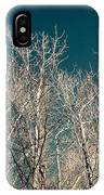 The Trees Of Teal IPhone Case