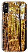 The Trees Through The Forest IPhone Case