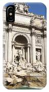 The Trevi Fountain - Rome - Italy IPhone X Case