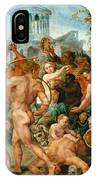 The Triumphal Procession Of Bacchus IPhone Case