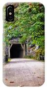 The Tunnel On The Scenic Route IPhone Case