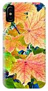 The Turning Leaves IPhone Case