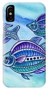 The Turquoise Rainbow Fish IPhone Case