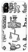 The Twelve Signs -  A Medieval Series IPhone Case