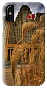 The Twisting Winds Of The Square IPhone Case