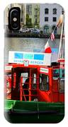 The Vagen Harbour Ferry IPhone Case
