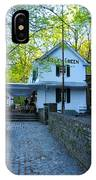 The Valley Green Inn On Forbidden Drive IPhone Case
