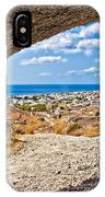 the view of Perissa IPhone Case