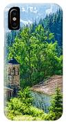 The Village Church - Impressions Of Mountains And Forests IPhone Case