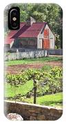 The Vineyard Barn IPhone Case