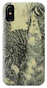 The Vintage Peacock IPhone Case
