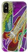 The Violin IPhone X Case