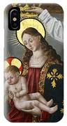 The Virgin And The Child With The Parrot IPhone X Case