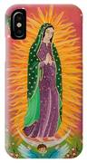 The Virgin Of Guadalupe IPhone Case
