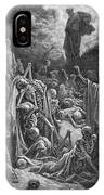 The Vision Of The Valley Of Dry Bones IPhone Case