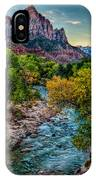 The Watchman At Sunrise IPhone Case