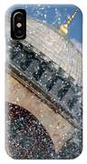 The Water Droplets From The Fountain At The Hagia Sophia Turkey IPhone Case