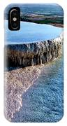 The Water With White Paint IPhone Case