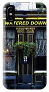 The Watered Down Pint IPhone Case