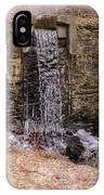 The Waterfall At Hagy's Mill IPhone Case