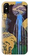 The Waterfall Of Amida Behind The Kiso Road IPhone Case