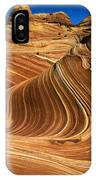 The Wave Wonder In Stone IPhone Case
