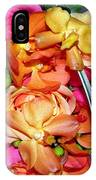 The Wedding Flowers IPhone Case