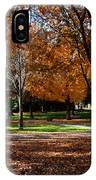 The Well In The Distance-davidson College IPhone Case
