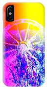 I Have A Wheel Of Colors But It's Standing Still  IPhone Case