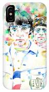 The Who - Watercolor Portrait IPhone Case