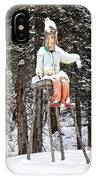 The Winter Greeter IPhone Case