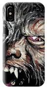 The Wolfman IPhone Case