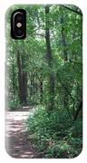 Stopping By Woods IPhone Case
